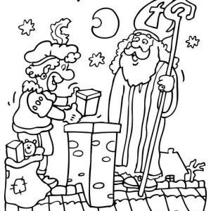 Sinterklaas-kleurplaat013