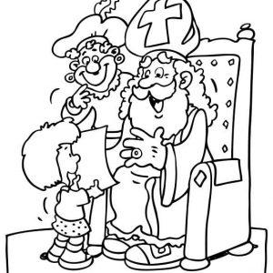 Sinterklaas-kleurplaat018