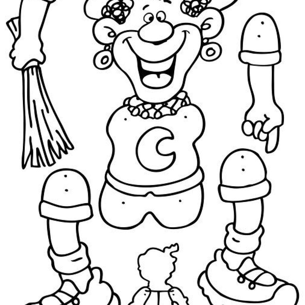 Sinterklaasjournaal Kleurplaat Printen Zwarte Piet Trekpop Knutselen Sinterklaas