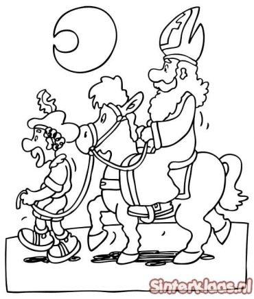 Sinterklaas tekeningen